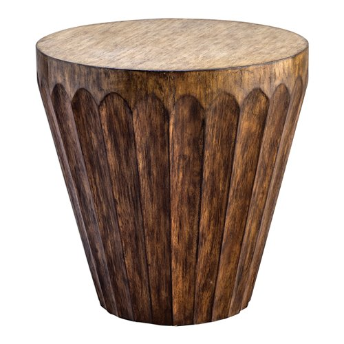 Uttermost Dova Drum Accent Table