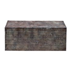 Uttermost Breck Natural Steel Coffee Table
