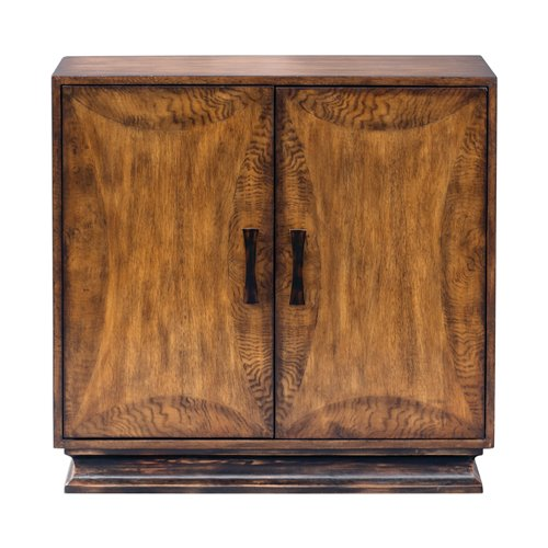 Uttermost Sanele Honey Stain Console Cabinet