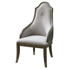 Uttermost Sylvana Gray Accent Chair