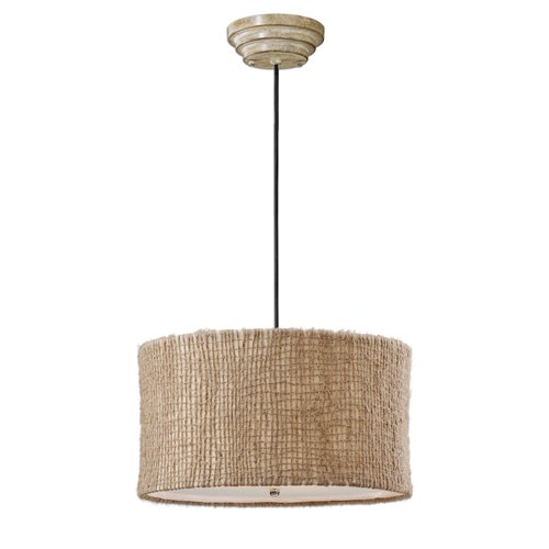 Uttermost Burleson 3 Light Drum Pendant