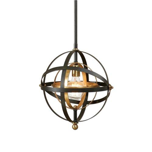Uttermost Rondure 1 Light Sphere Mini Pendant