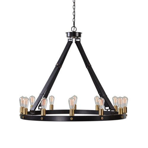 Uttermost Marlow 12 Light Circle Chandelier