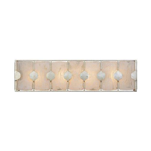 Uttermost Rene 4 Light Swirl Glass Vanity