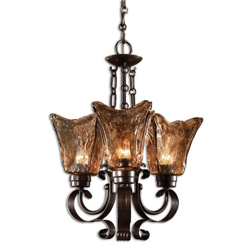 Uttermost Vetraio 3Lt Oil Rubbed Bronze Chandelier
