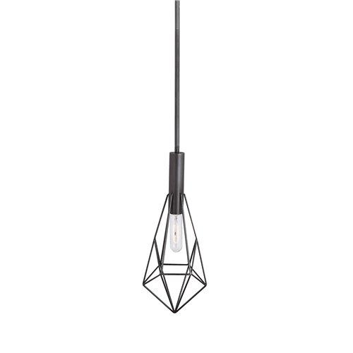 Uttermost Erebos 1 Light Geometric Mini Pendant