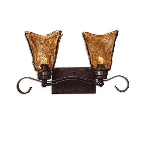 Uttermost Vetraio 2 Light Bronze Vanity Strip