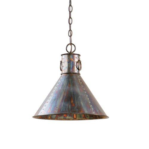 Uttermost Levone 1 Light Oxidized Bronze Pendant