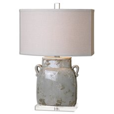 Uttermost Melizzano Ivory-Gray Table Lamp