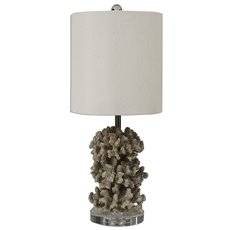 Uttermost Silver Coral Table Lamp