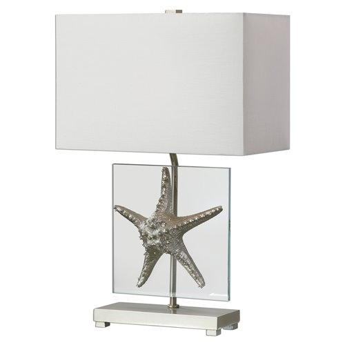 Uttermost Silver Starfish Table Lamp