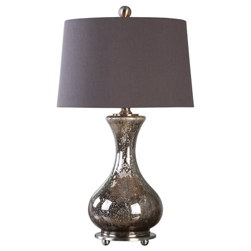 Uttermost Pioverna Mercury Glass Table Lamp