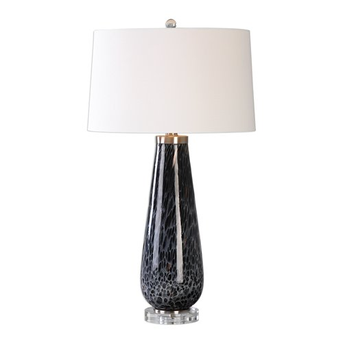 Uttermost Marchiazza Dark Charcoal Table Lamp