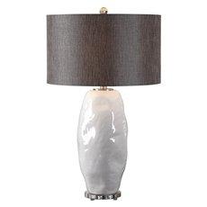 Uttermost Assana Gloss White Table Lamp