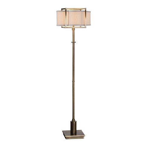 Uttermost Bettino Antique Brass Floor Lamp