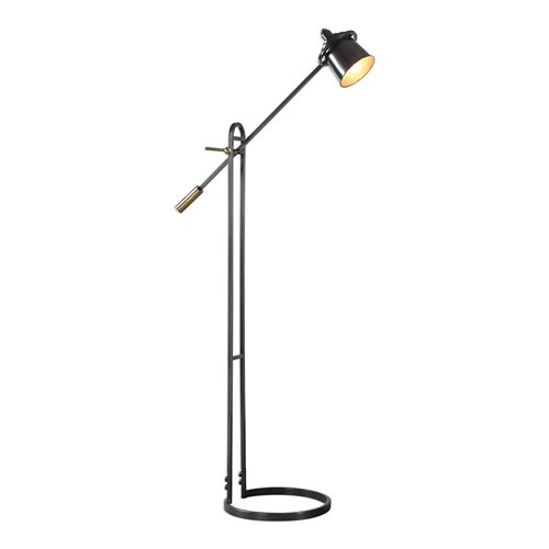 Uttermost Chisum Dark Bronze Floor Lamp