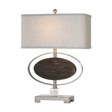Uttermost Malik Wood Oval Lamp