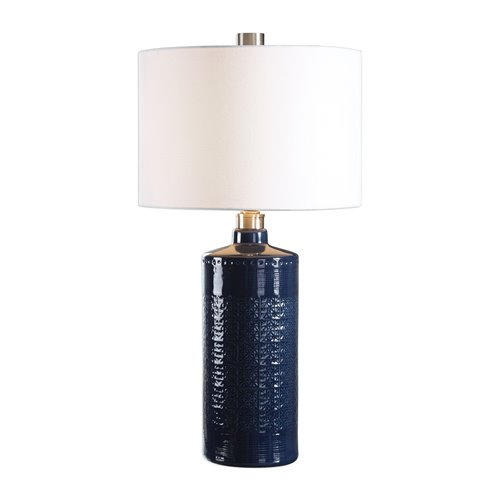 Uttermost Thalia Royal Blue Table Lamp