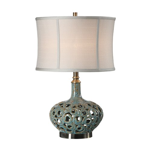 Uttermost Volu Abstract Swirl Lamp