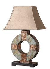 Uttermost Slate Table Lamp