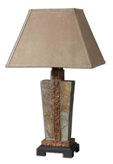 Uttermost Slate Accent Lamp