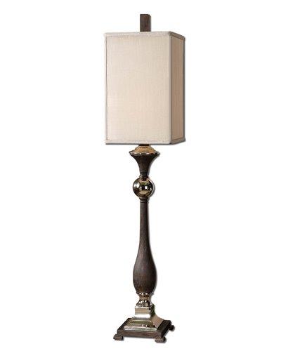 Uttermost Valstrona Black Buffet Lamp