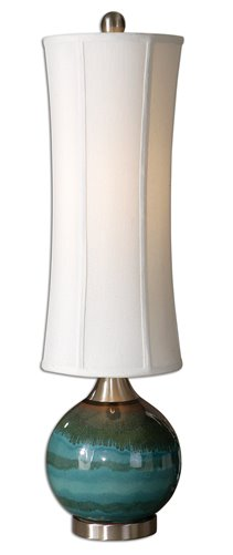 Uttermost Atherton Blue Buffet Lamp