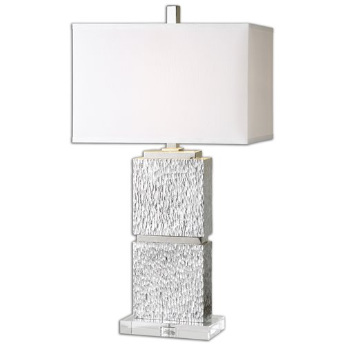 Uttermost Eumelia Silver Table Lamp