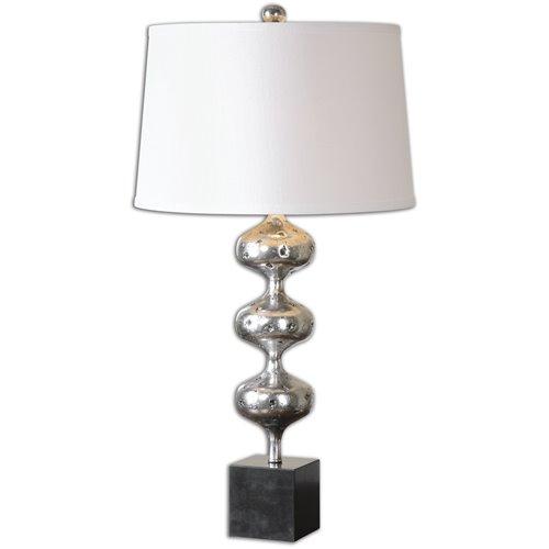 Uttermost Cloelia Polished Silver Lamp