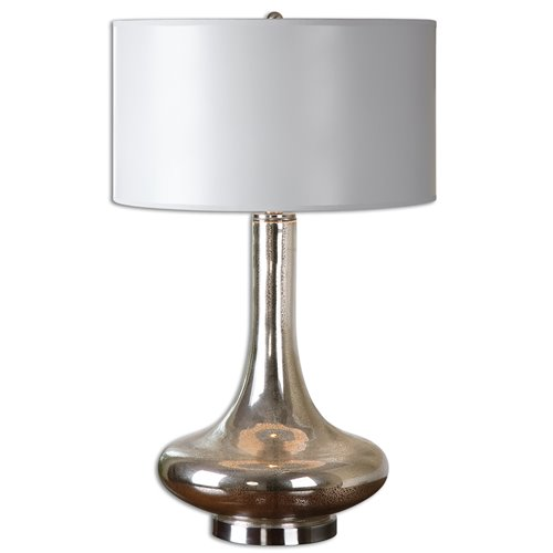 Uttermost Fabricius Mercury Glass Lamp