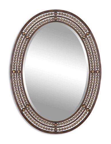 Uttermost Matney Distressed Bronze Mirror