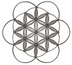 Uttermost Baiano Decorative Metal Mirror