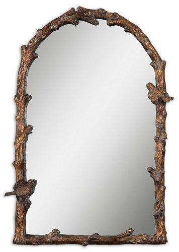 Uttermost Paza Antique Gold Arch Mirror