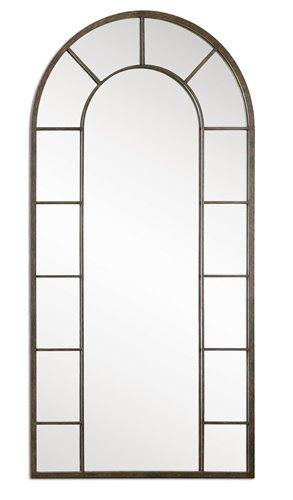 Uttermost Dillingham Black Arch Mirror