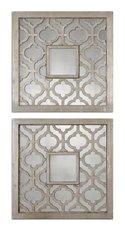 Uttermost Sorbolo Squares Decorative Mirror Set/2