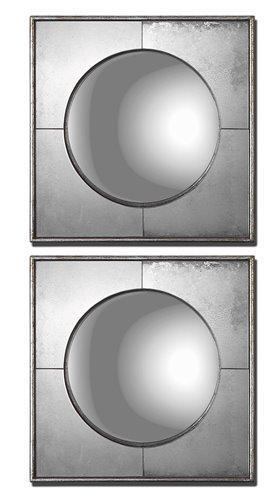 Uttermost Champagne Silver Mirror Set/2