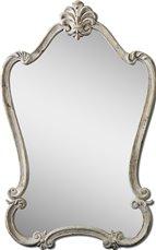 Uttermost Walton Hall Antique White Mirror