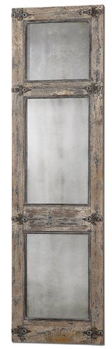 Uttermost Saragano Distressed Leaner Mirror