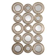 Uttermost Vobbia Metal Circles Mirror