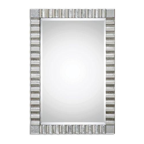 Uttermost Amisos Scalloped Wall Mirror