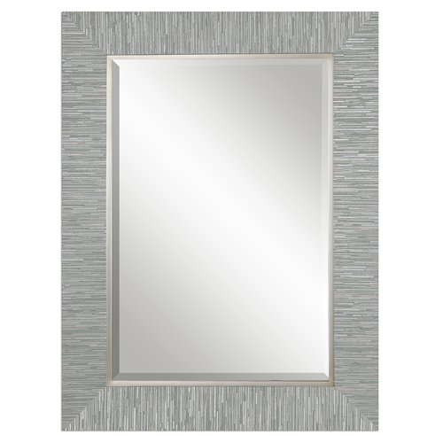Uttermost Belaya Gray Wood Mirror