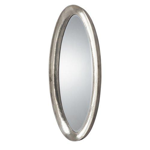 Uttermost Copparo Silver Oval Mirror