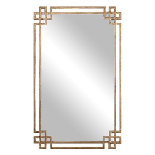 Uttermost Devoll Antique Gold Mirror