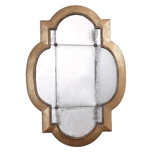 Uttermost Andorra Gold Leaf Mirror