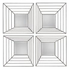 Uttermost Denain Square Mirrors, S/4