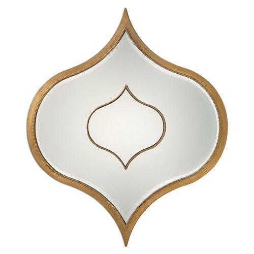 Uttermost Nadia Gold Mirror
