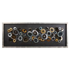 Uttermost Discs Silver Shadow Box