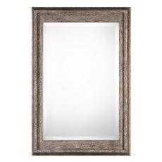 Uttermost Allegan Antiqued Silver Mirror