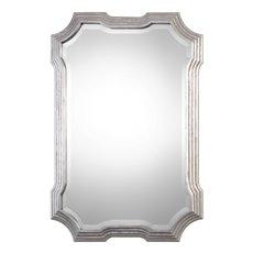 Uttermost Halima Silver Step Mirror