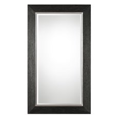 Uttermost Creston Oversized Mottled Black Mirror
